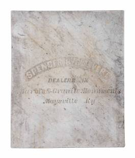 A Maysville, Kentucky Marble Monuments Advertising
