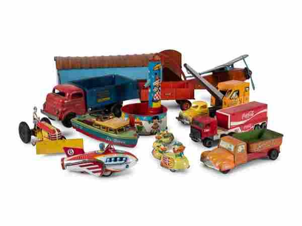 Ten Tin Toys