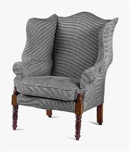 A Country Sheraton Wing Chair