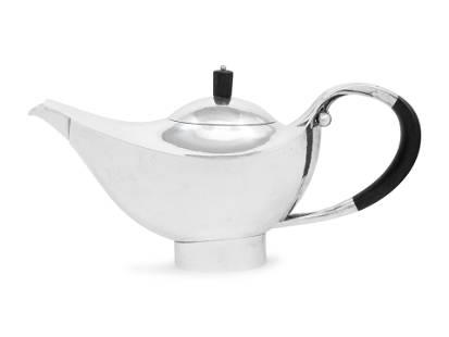 A Rare Johan Rohde for Georg Jensen Silver Teapot