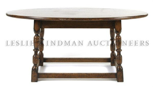 A Jacobean Revival Walnut Occasional Table, Caledonian,