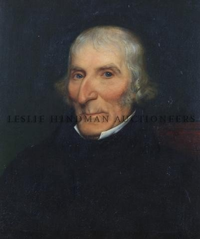 Attributed to George Frederick Watts, (British, 1817-19