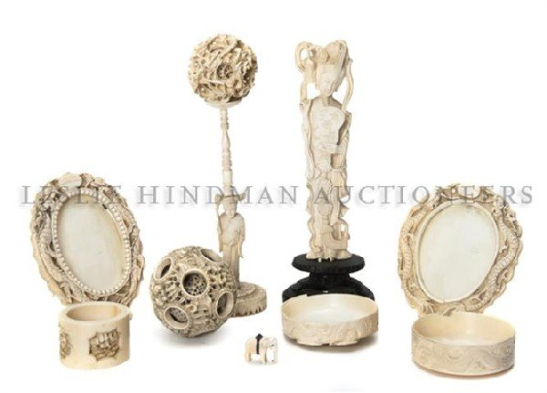 623: A Collection of Chinese Carved Ivory Articles, Hei