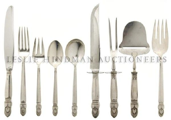 An American Sterling Silver Flatware Service, Whit