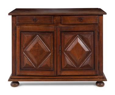 A Louis XIII Walnut Cabinet