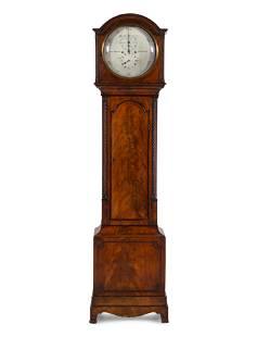 A Regency Mahogany Tall Case Clock