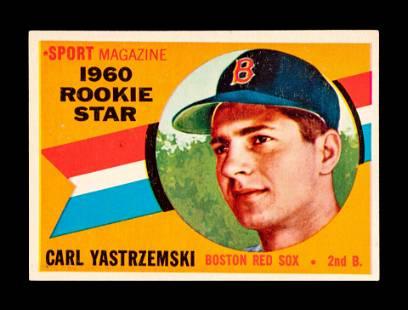 A 1960 Topps Carl Yastrzemski Rookie Baseball Card No.
