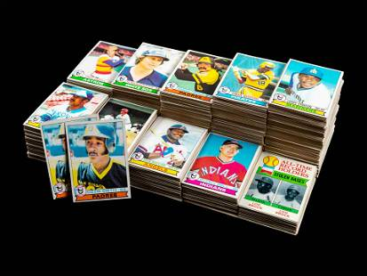 A Group of Over 1,150 1979 Topps Baseball Cards