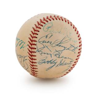A 1952 American League All-Stars Signed Autograph