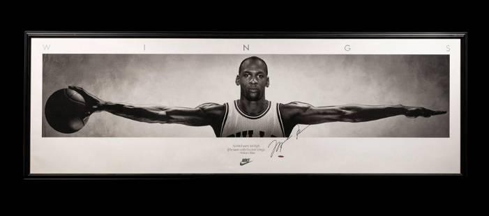An Exceptional Michael Jordan Signed Autograph Original