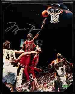 "A Michael Jordan 1995 ""I'm Back"" Chicago Bulls Signed"