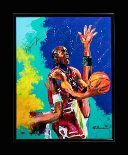 A Michael Jordan Chicago Bulls Signed Autograph
