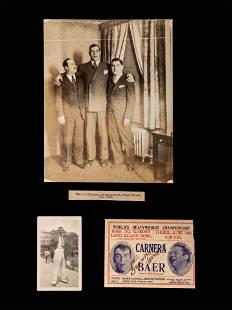 A Primo Carnera Signed Autograph Promotional Envelope