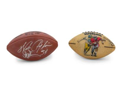 A Group of Chicago Bears Hall of Fame Signed Autograph