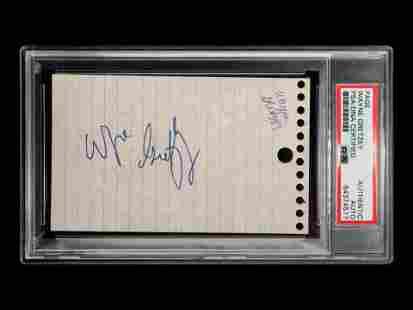 A Wayne Gretzky Rookie Era Signed Autograph (PSA
