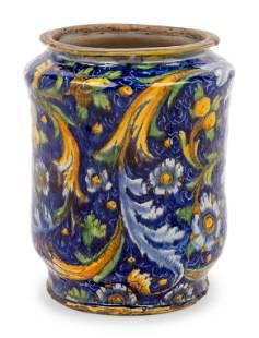 An Italian Majolica Apothecary Jar