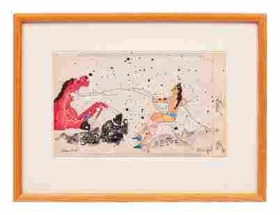 Randy Lee White (American, b. 1951) Paintings on