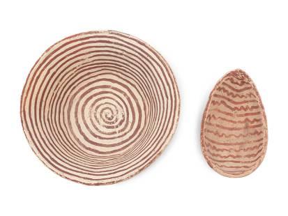 Hohokam Pottery Bowl and Dipper