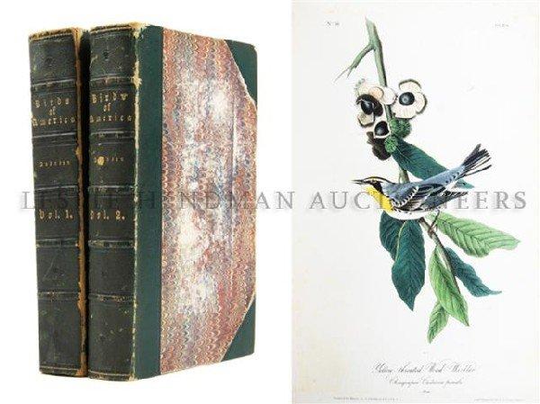AUDUBON, JOHN JAMES. The Birds of America, from Drawing