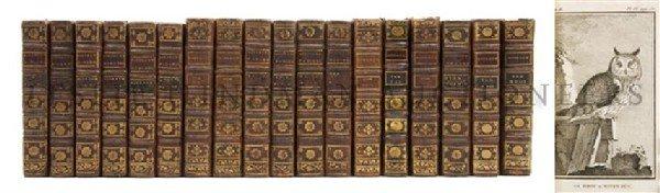 BUFFON, GEORGES LOUIS LECLERC. Histoire naturelle des o