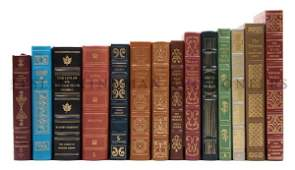 EASTON PRESS A group of 14 volumes published by the