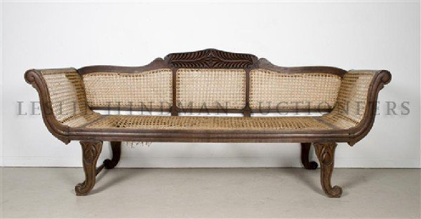 A Chaise Lounge, Height 35 x width 84 x depth 26 1/4 in