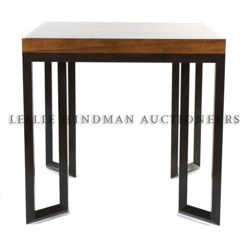 An American Mahogany and Ebonized Wood Games Table, The