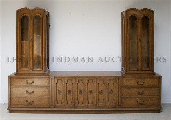 An American Burlwood Sideboard, Mastercraft Furniture C