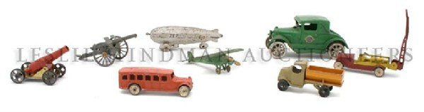 A Collection of Sixty-Seven Miscellaneous Toy Automobil