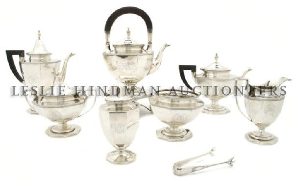 An American Sterling Silver Tea and Coffee Service, Goo