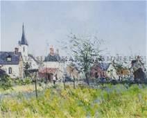 Jean Pierre Dubord French 1949 Village dupays de C