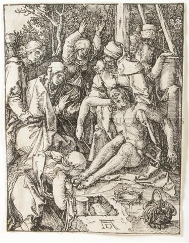 1: Albrecht Durer, (German, 1471-1528), The Lamentation