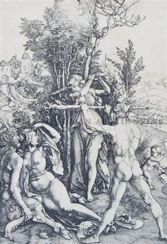 2: Albrecht Durer, (German, 1471-1528), Hercules at the