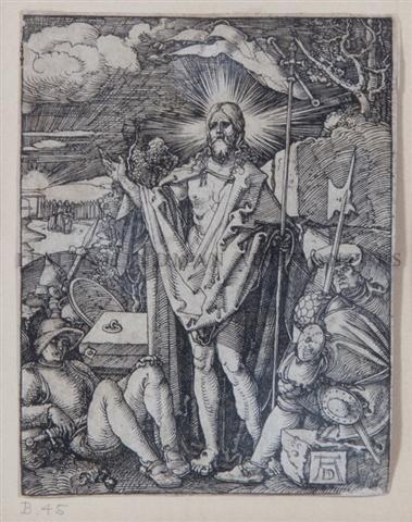 3: Albrecht Durer, (German, 1471-1528), Die Auferstehun