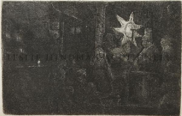 5: Rembrandt van Rijn, (Dutch, 1606-1669), The Star of