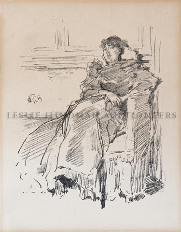 9: James Abbott McNeill Whistler, (American, 1834-1903)