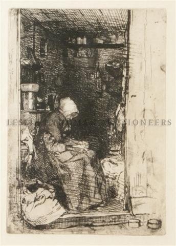10: James Abbott McNeill Whistler, (American, 1834-1903