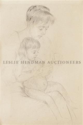 15: Mary Cassatt, (American, 1844-1926), The Manicure