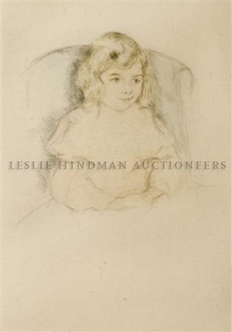 17: Mary Cassatt, (American, 1844-1926), Sara Smiling