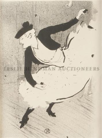 19: Henri de Toulouse-Lautrec, (French, 1864-1901), Edm