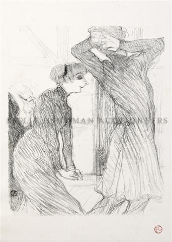 21: Henri de Toulouse-Lautrec, (French, 1864-1901), Lug