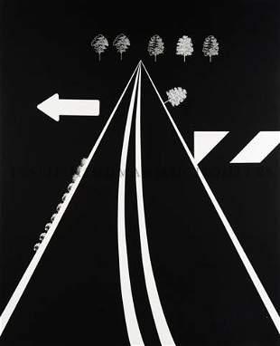 205: Allan D'Arcangelo, (American, 1930-1998), A-8, 196