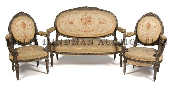20: A Louis XV Style Three-Piece Parlor Suite, Width of