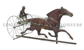 An American Copper Weathervane, Length 33 inches.