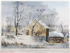 1135 Currier  Ives Nathaniel Currier 18131888 an