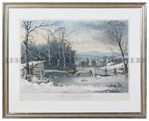 Currier & Ives, (Nathaniel Currier (1813?1888) an