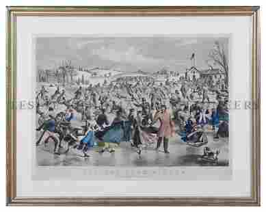 1142: Currier & Ives, (Nathaniel Currier (1813?1888) an
