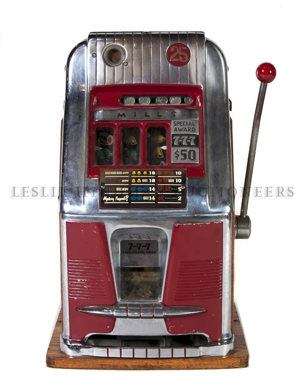 1182: An American Quarter Slot Machine, Mills, Height 2