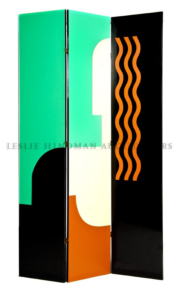 1184: A Three Panel Floor Screen, Donald Deskey, Height