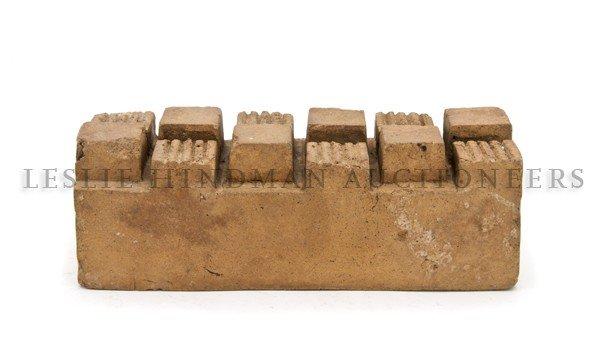 1185: A Terracotta Brick, Designed by Frank Lloyd Wrigh